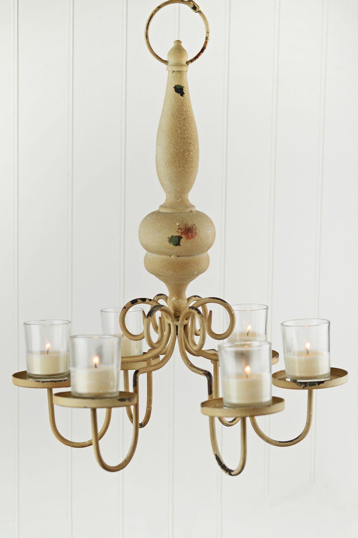 Wood and metal hanging candle holder lantern pinterest hanging wood and metal hanging candle holder arubaitofo Images