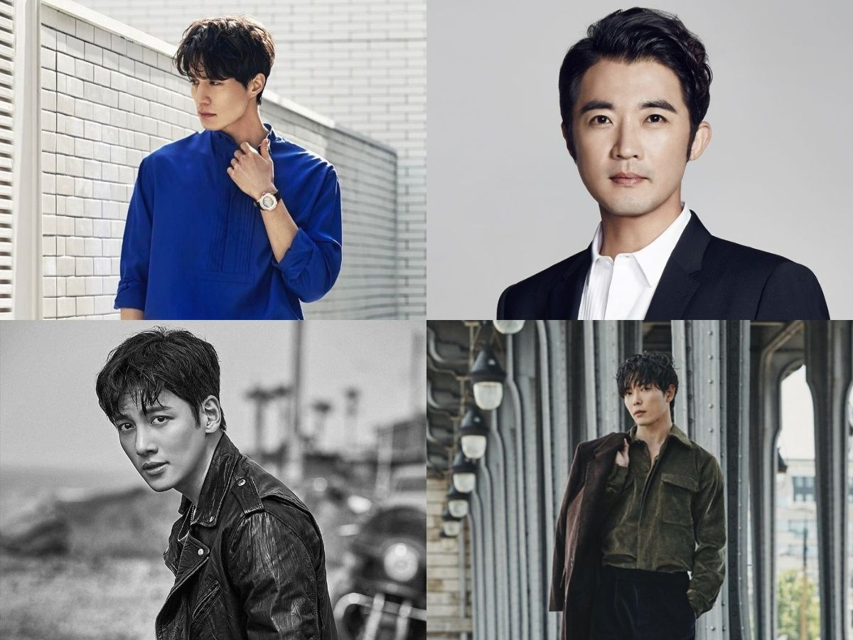 List actors named WOOK are both acting talented and handsome