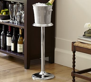 Harrison Wine Bottle Cooler With Stand Bar Glassware Wine Bucket Bottle Coolers