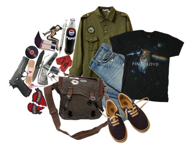 """""""It's Fun To Fantasize"""" by bipolarbabe ❤ liked on Polyvore featuring Floyd, Vans, Bluelounge and CB2"""
