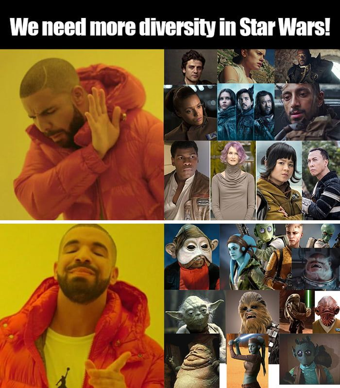 Diversity in Star Wars