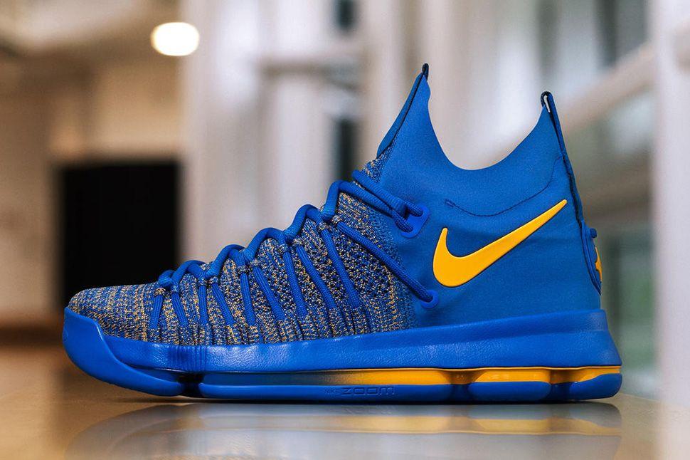 618925d564b Nike KD 9 Elite  Golden State Warriors  PE for Kevin Durant - EU Kicks   Sneaker Magazine