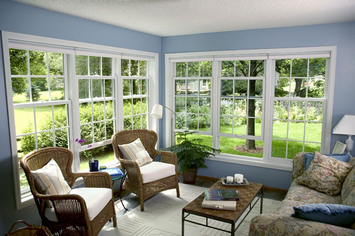 Choose Sunroom Furniture For Enliven Your Home Interior Paint Color And Window Treatment With Wicker Set Also Seat Cushions Area Rug