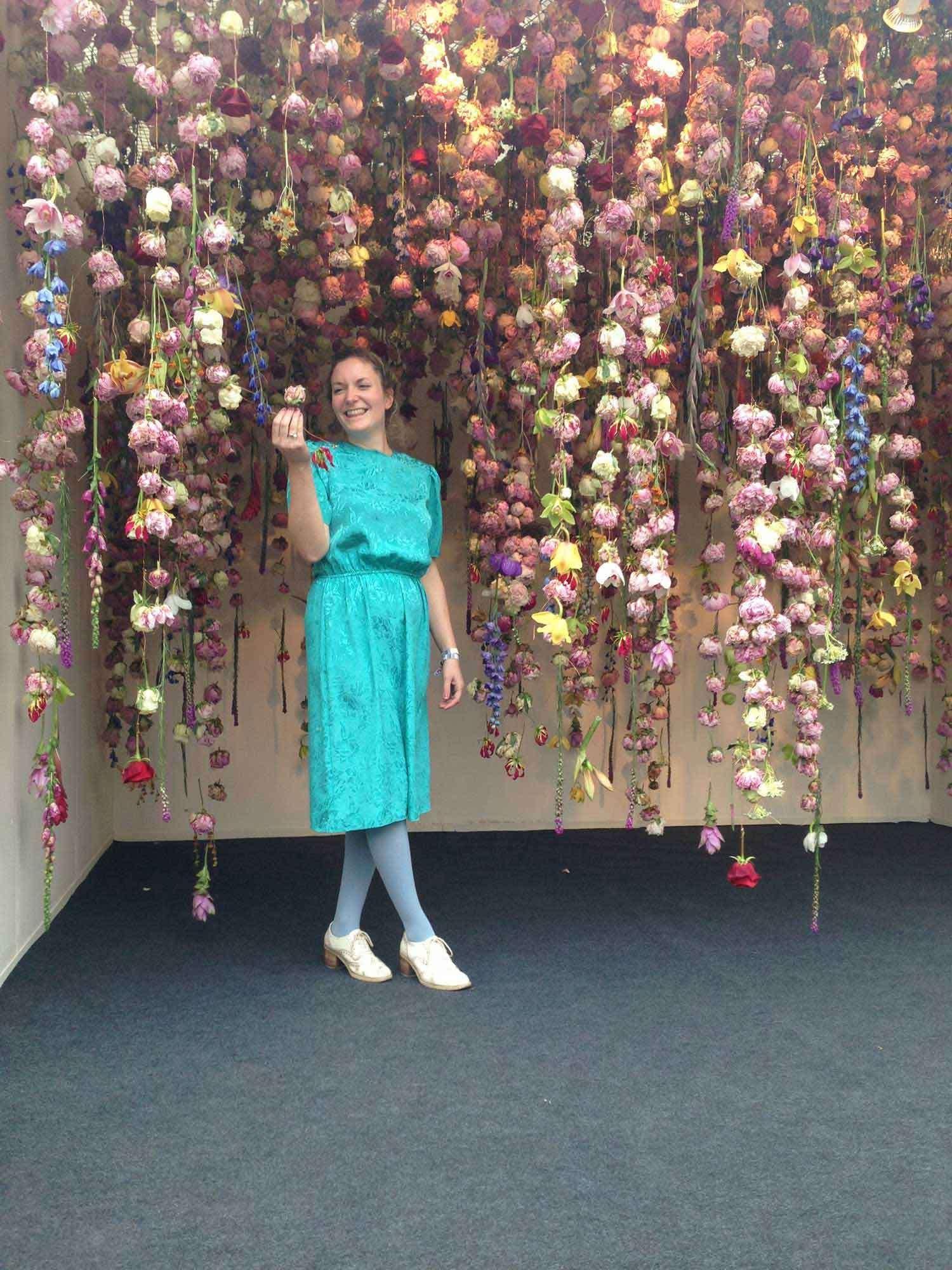 Decoracion Con Flores, Flores Colgantes