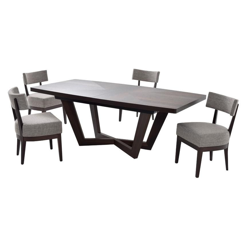 Kadia 5 Piece Formal Dining Set Made In Italy Formal Dining Set