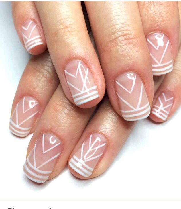Clear Nail Designs Beauty In 2018 Pinterest Nails Nail