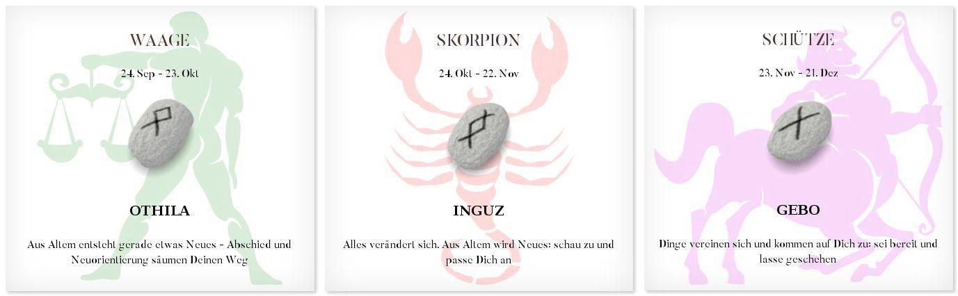 Runen Tageshoroskop 25.2.2017 #Sternzeichen #Runen #Horoskope #waage #skorpion #schütze
