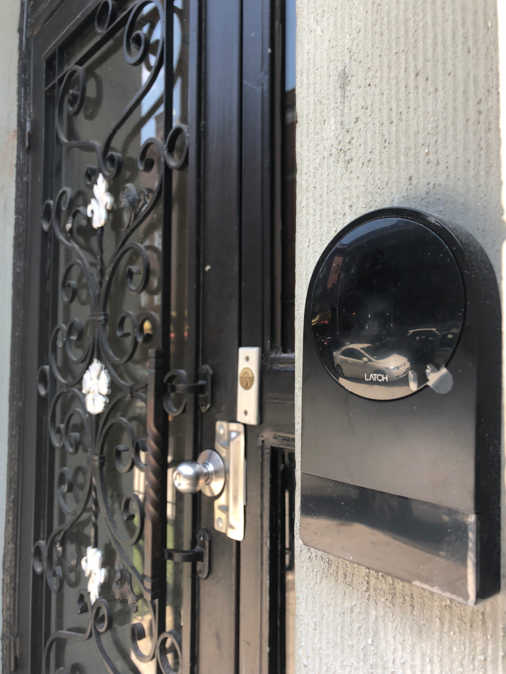 Latch R Reader Installation Project By Paragon Security