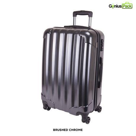 Genius Pack 25' Hardside Crush-Proof Luggage at 68% Savings off Retail!