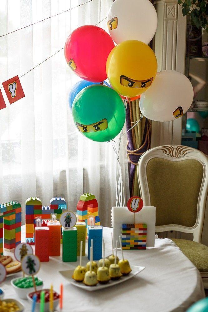 Lego Ninjago Lego Geburtstagsparty Ninjago Geburtstag Ninjago