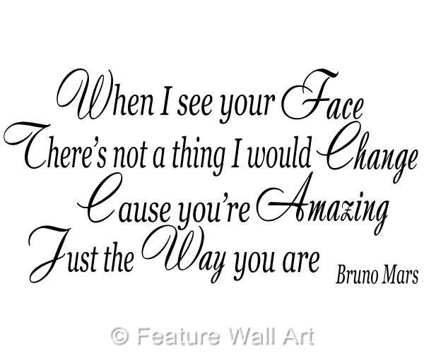 Just The Way You Are By Bruno Mars The Way You Are Just The Way You Are Lyrics