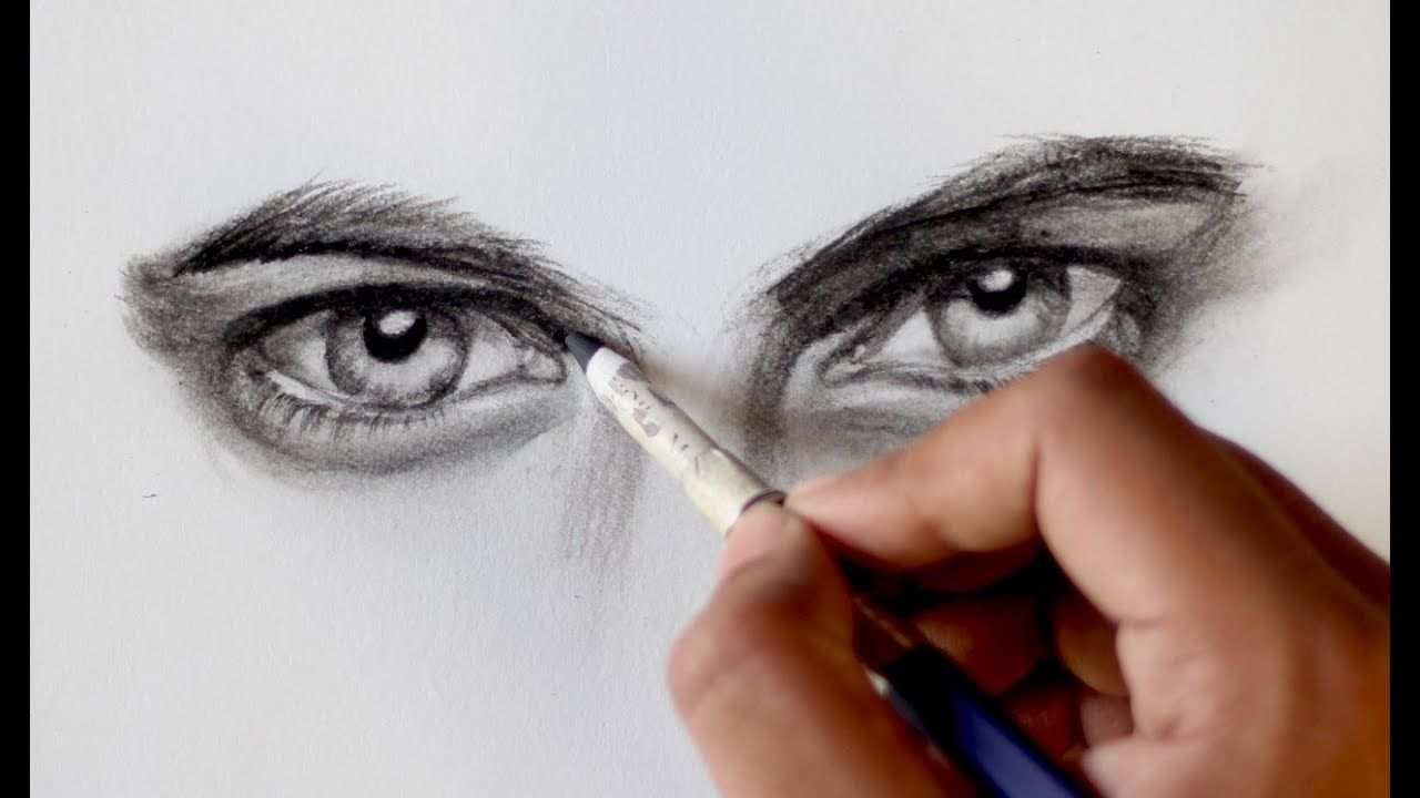 How To Draw Male Eyes Step By Step Tutorial Eye Drawing Guy Drawing Male Eyes