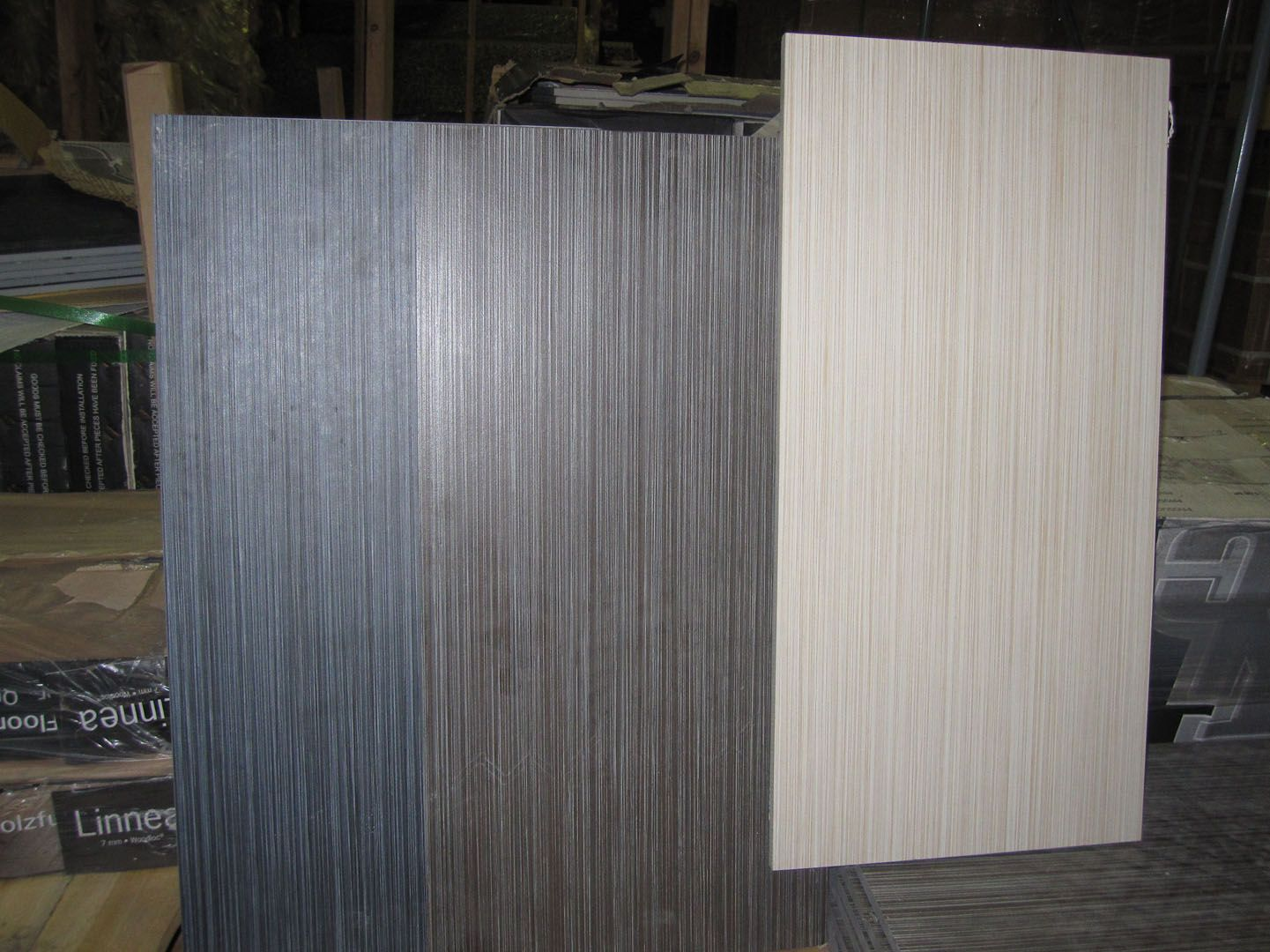 Dark Grey And Blue Linear Tile For Bathroom Floor Will Be 12x24
