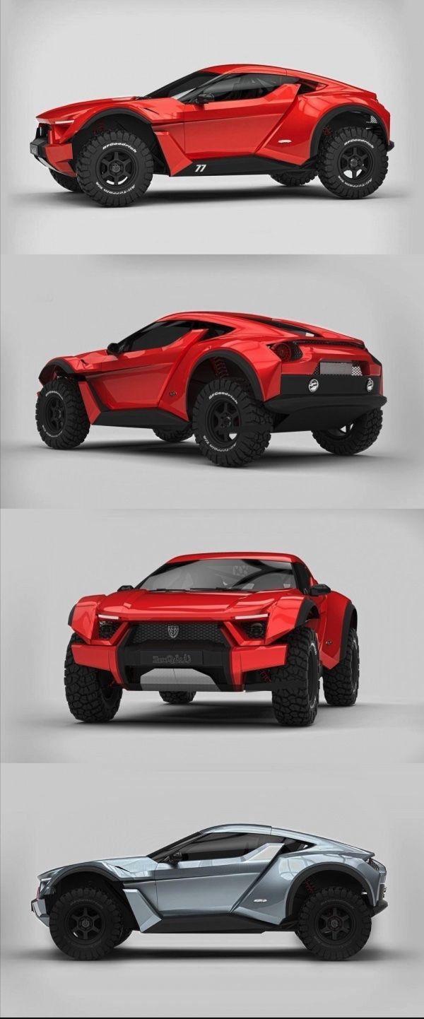 Zarooq Sand Racer ention UAE to most people and a few words come to mind,