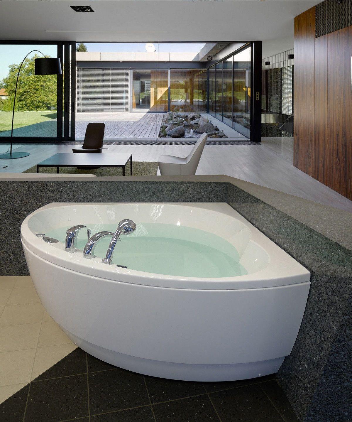 Aquatica Cleopatra: Two-Person Rounded Corner Soaking Tub | Heaven ...