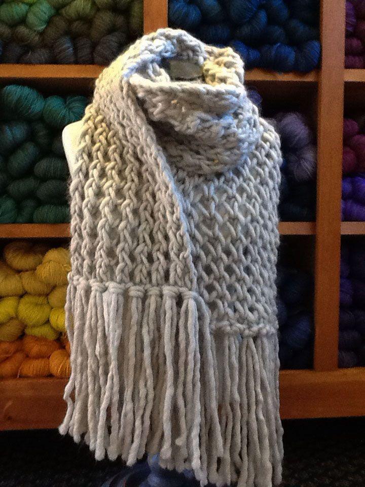 The Trellis Scarf knitting pattern | knitting | Pinterest
