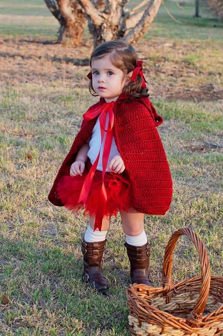 Outfit Fur Kleines Madchen Rotkappchen Verkleidung Pinterest