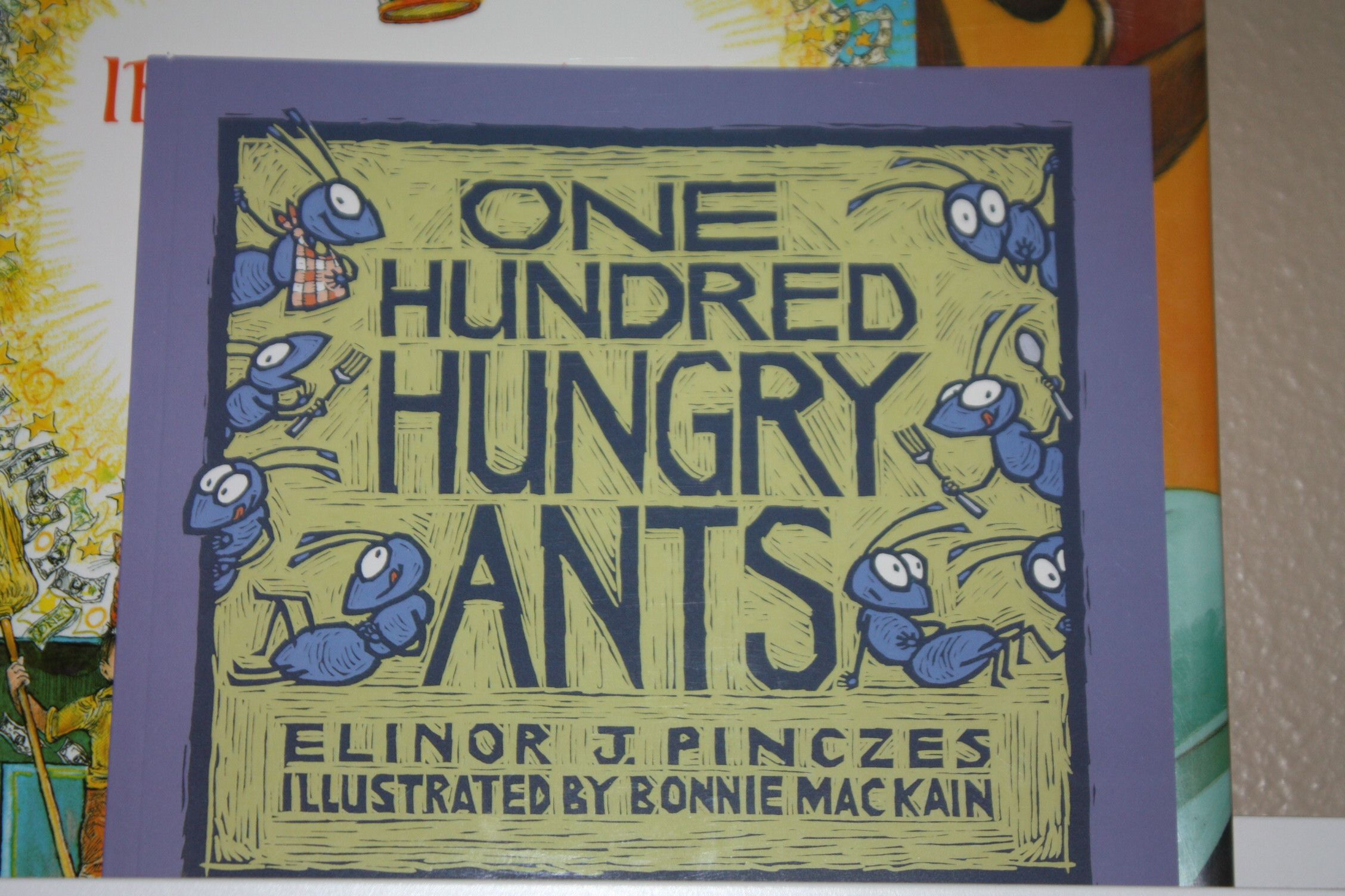 One Hundred Hungry Ants And Math Activity By Elinor J