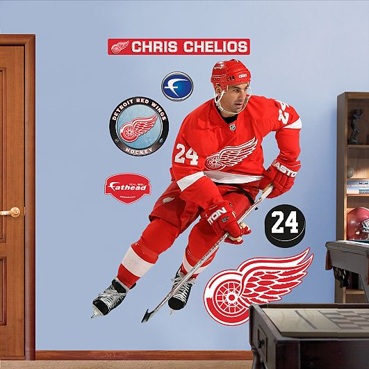 Chris Chelios Detroit Red Wings Red Wings Nhl Chicago