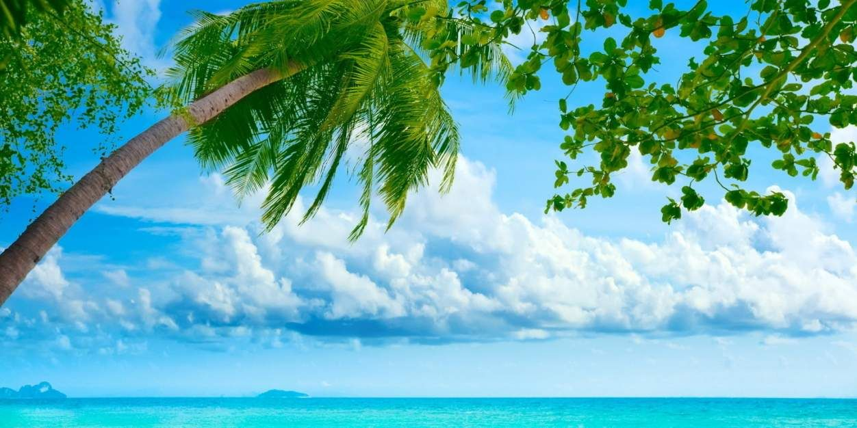 Tropical Island Wallpaper Island Wallpaper Beach Wallpaper Tropical Island Beach