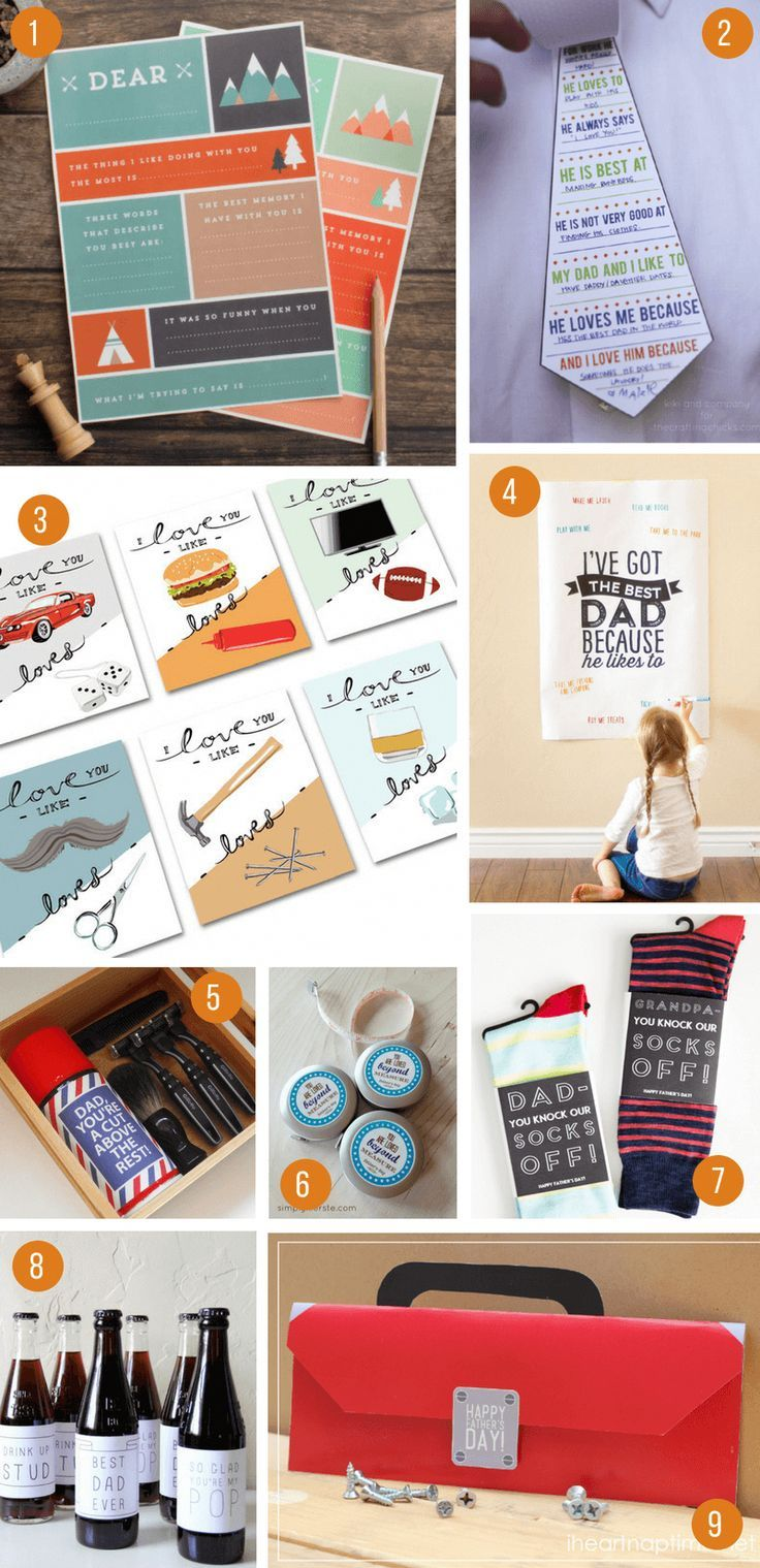 100 incredible diy fathers day gift ideas from kids