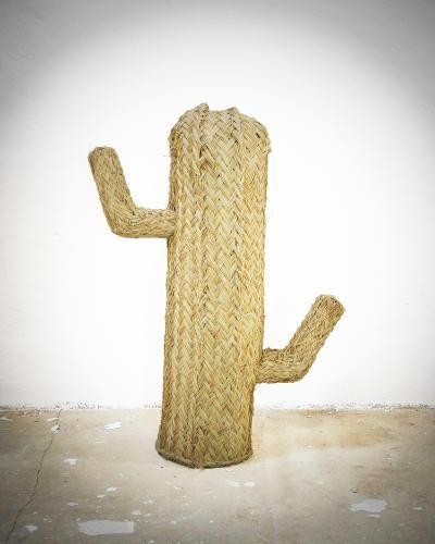 Petit Cactus Paille Maison De Vacances Pinterest