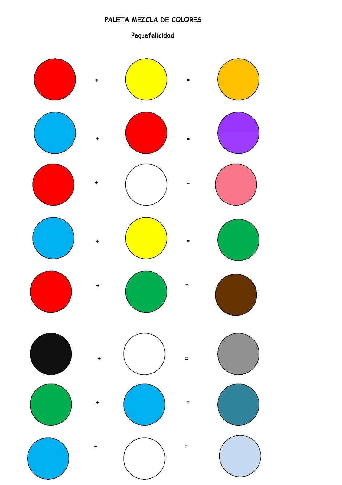 Menudos d as de calor no se t pero a m con este calor for Tabla colores pintura