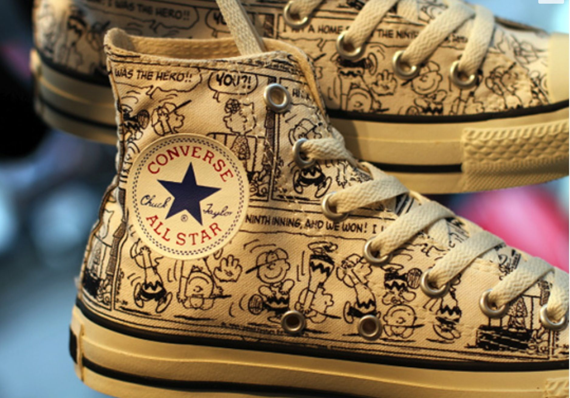 b85b4d513702 Charlie Brown and the Peanuts converse