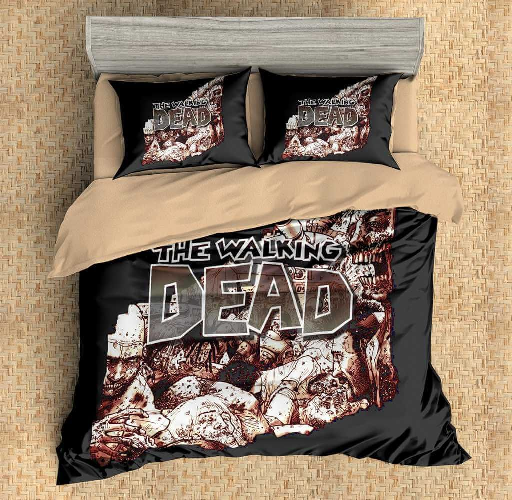 Permalink to 32 beautiful pict of Walking Dead Bedding