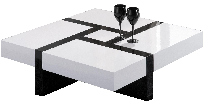Enfilade Noire Et Blanc Recherche Google Meubles Appart  # Table Basse Avec Tele