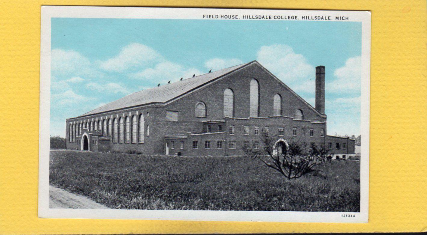 Hillsdale mi michigan field house hillsdale college ebay