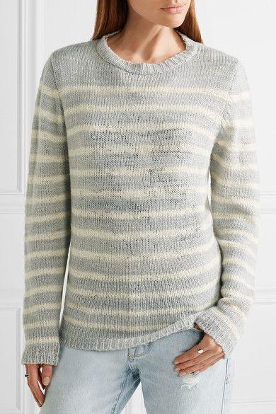 abf062e1ff1 The Elder Statesman - Picasso striped cashmere sweater   Products ...
