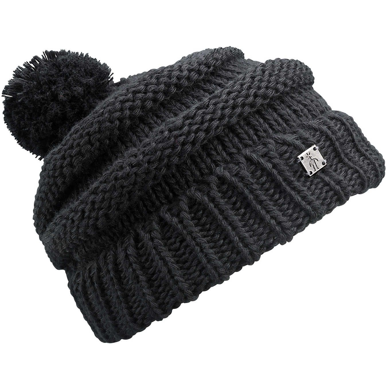 8592a705165 This Black Copper Basin Slouch Merino-Blend Beanie - Adult is perfect! The  Copper Basin Slouch hat takes ...