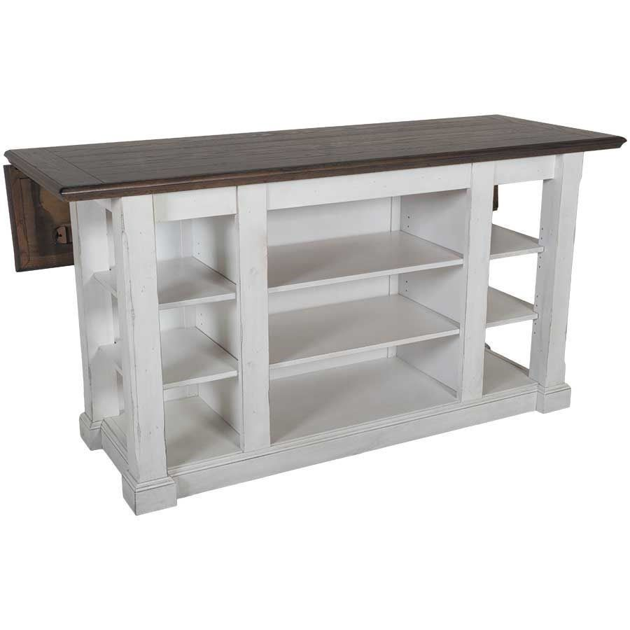 Sunny Designs 1016fc Bourbon County Kitchen Island In French Country