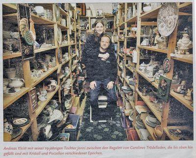 Carolines Trodelladen In Der Presse Carolines Trodelladen Nurnberg Second Hand Mobel Haushaltswaren Zu Verkaufen