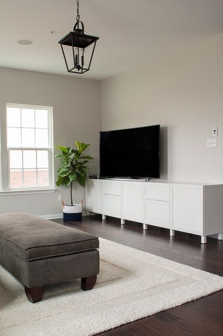 Exceptionnel How To Design A Modern Media Center Using IKEA BESTA Cabinets. Get A Built