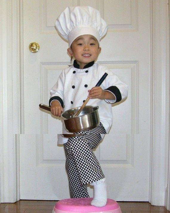Chefu0027s Costume  sc 1 st  Pinterest & Chefu0027s Costume | Dress Up | Pinterest | Halloween costumes Costumes ...