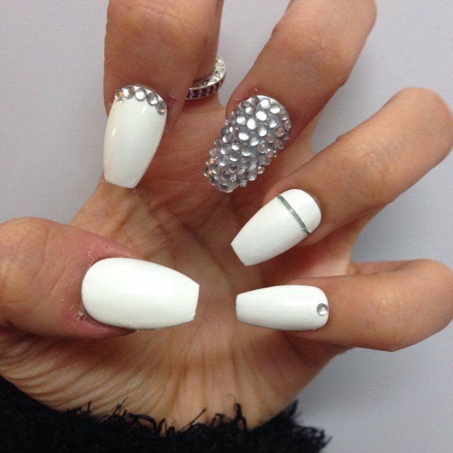 Diamond Shaped Nails images | Acrylic Nails | Pinterest | Coffin nails
