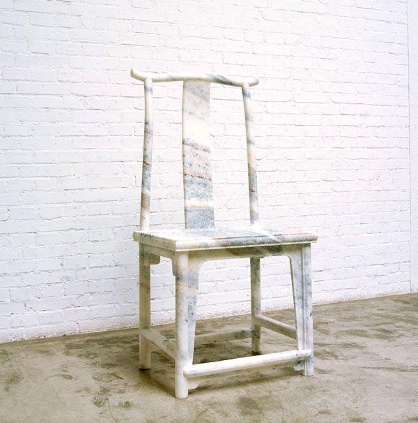 Ai Weiwei   Marble Chair (2008)