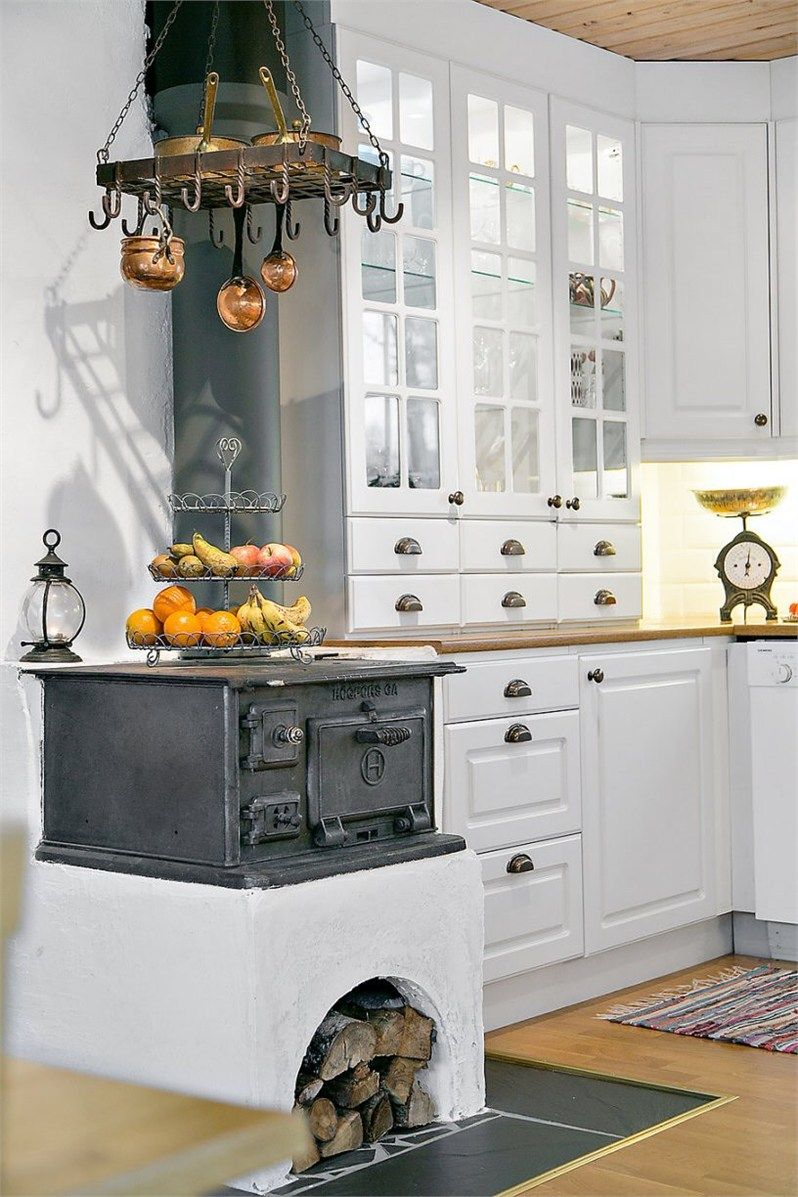 Wood Burner in the Kitchen | Objects of Warmth | Pinterest ...