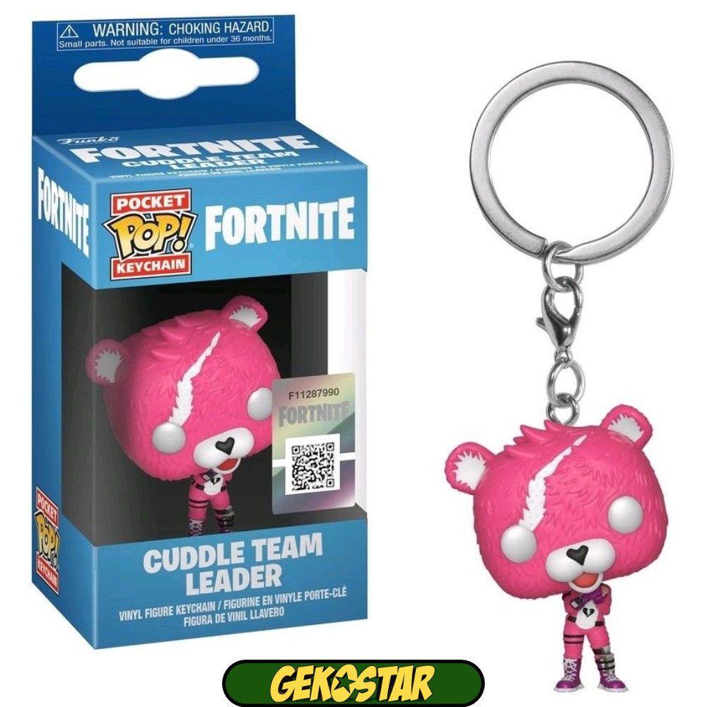 Cuddle Team Leader Fortnite Funko Pocket POP Keychain