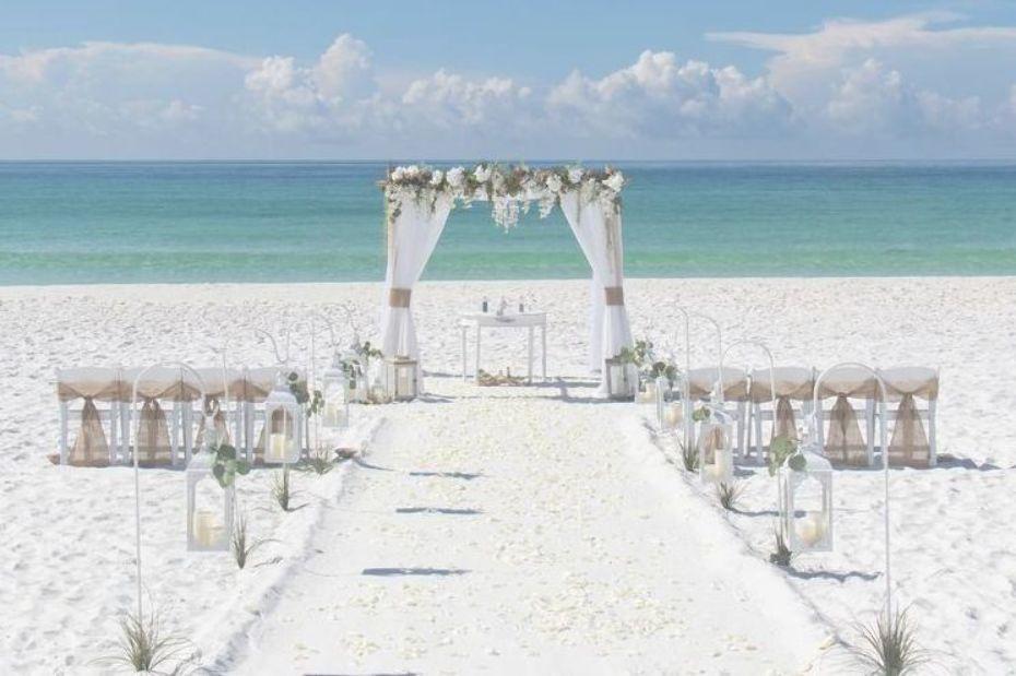Destin Florida beach wedding package Florida beach