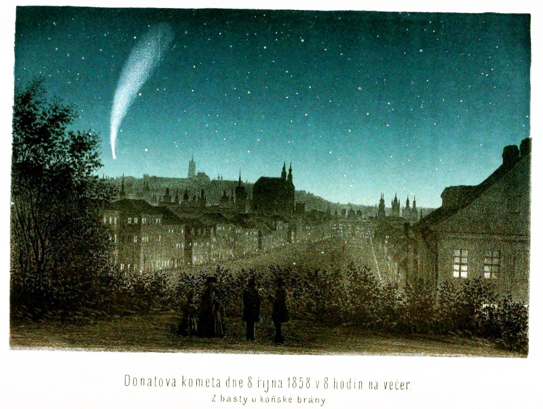 Donatova Kometa Vintage Printable