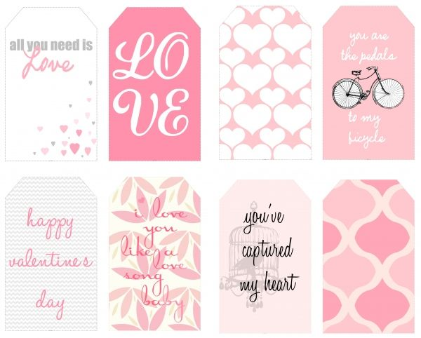Printable Free ValentineS Day Tags  Print It