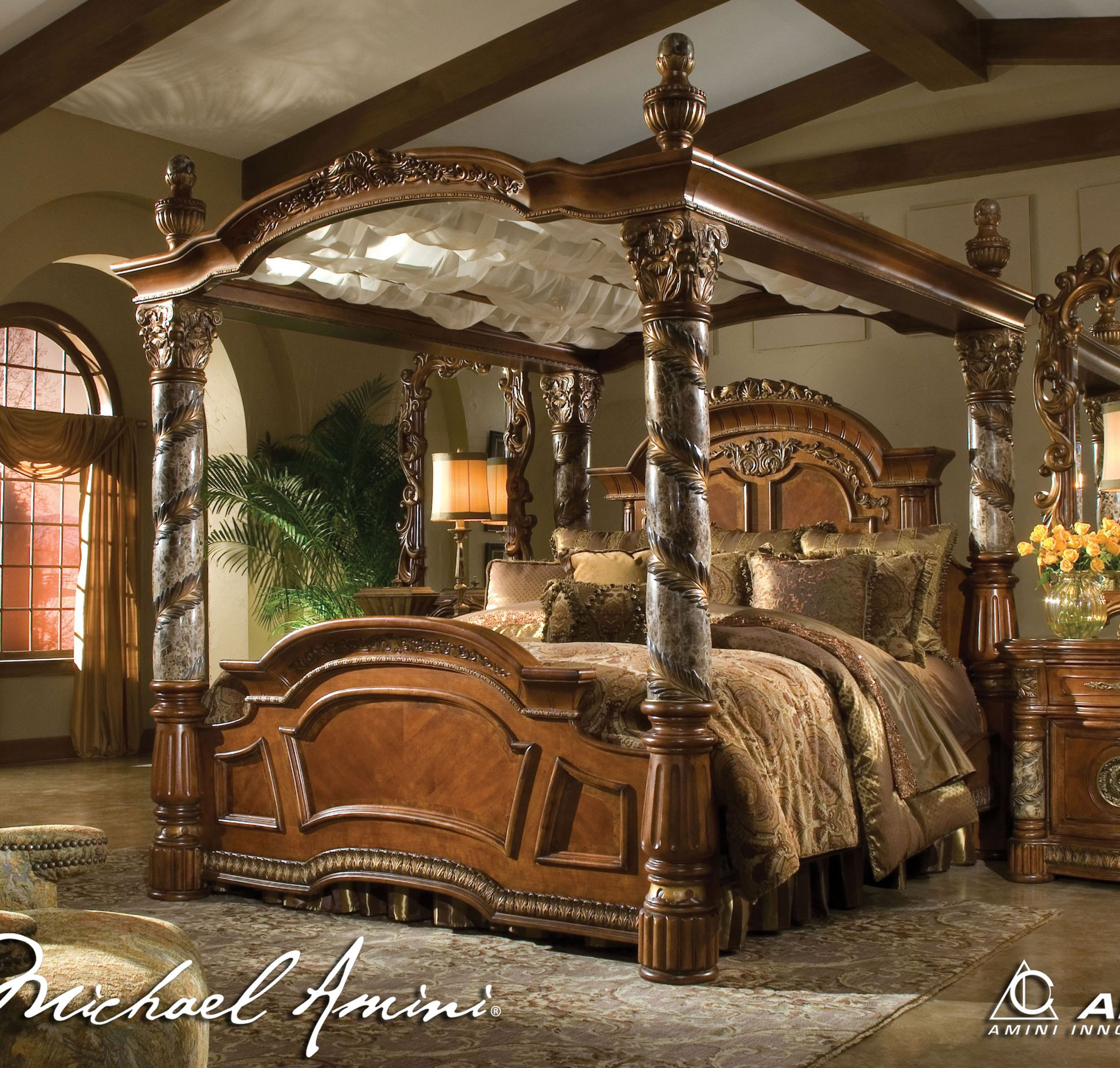 Grandeur And Luxe Canopy Bedroom Sets Romantic Bedroom Decor Canopy Bedroom