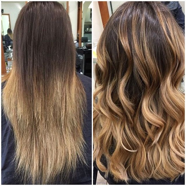 Colour Correction Bad Bleached Hair To Soft Balayage Redken Bleached Hair Balayage Long Hair Color