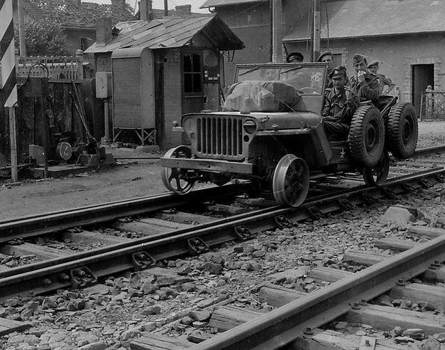 Railway Jeep Willys Jeep Willys Willys Mb