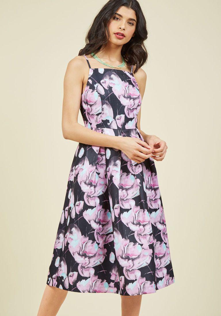 Ritz and Wisdom Midi Dress