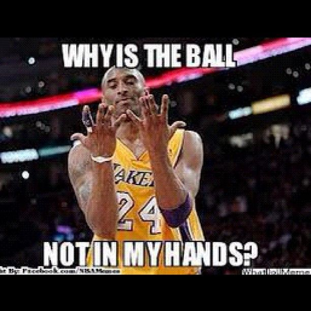 Google Give Me The Definition Of Ball Hog Kobe Bryant With