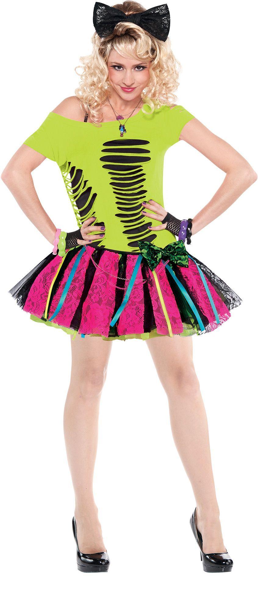Make Your Costume 80s Womens Neon Tutu 1 Neon tutu